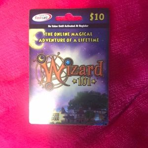 Other - Wizard 101 card
